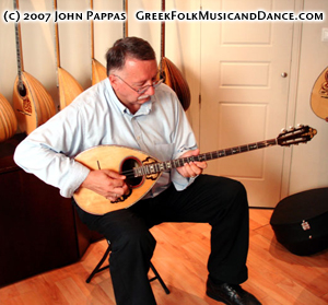 John with Bouzouki, 2006